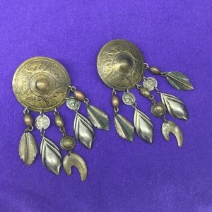 Roman Coin, Art Dingle Fashion Earrings